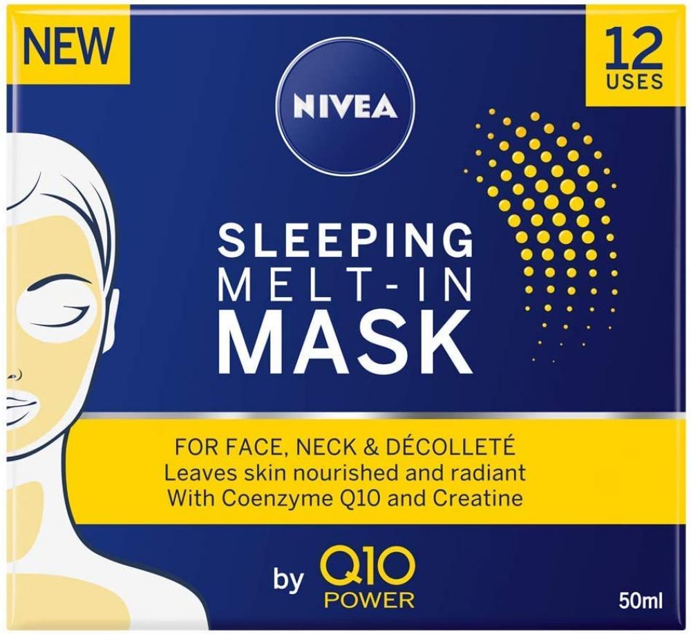Nivea Q10 Power Sleeping Melt-In Anti-Ageing Face Mask 50ml