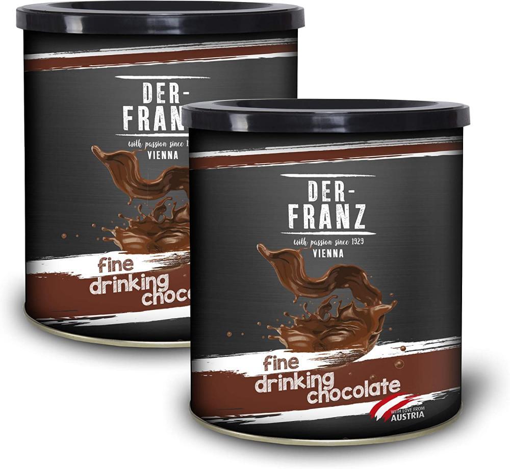 Der Franz Fine Drinking Chocolate with 26 Cacao 500g