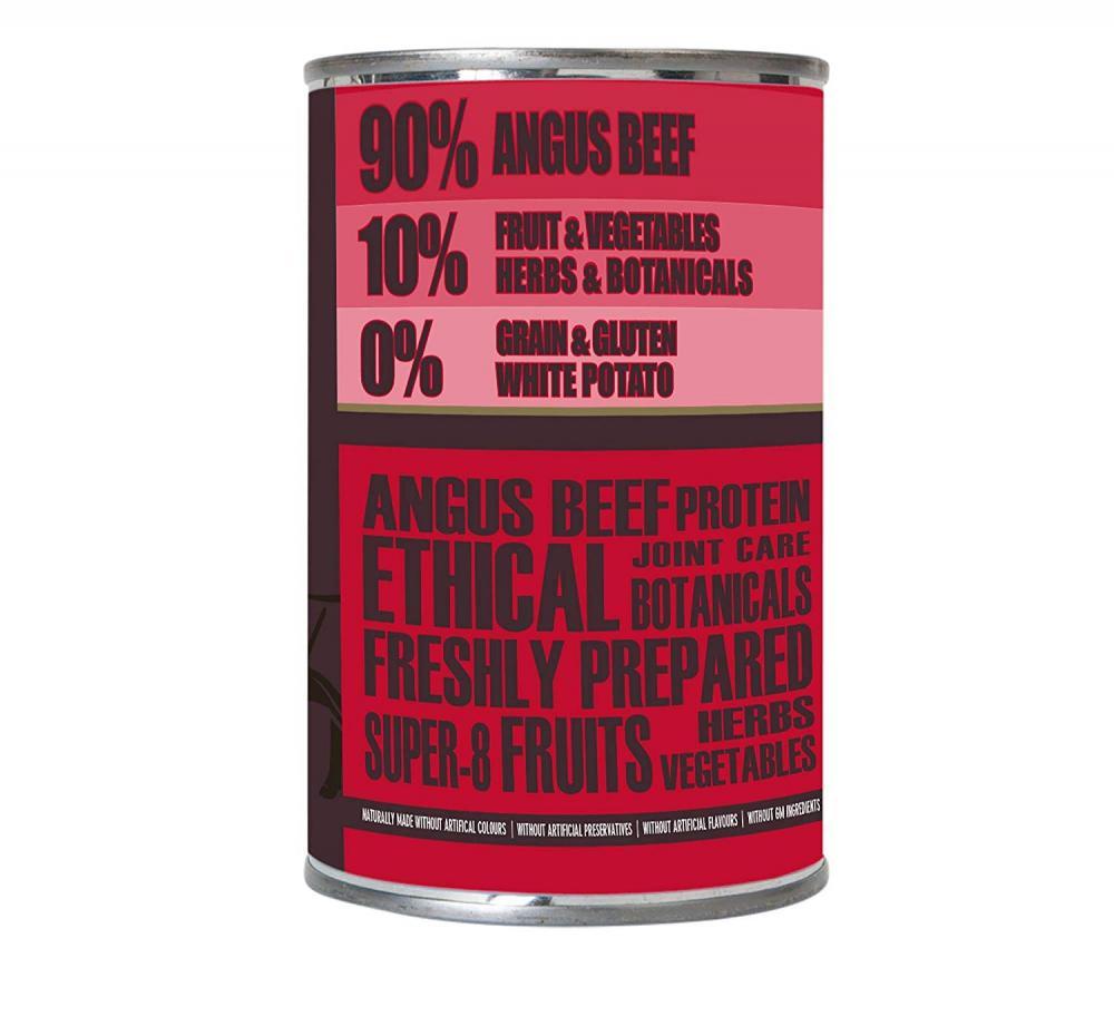 AATU 9010 Angus Beef Wet Dog Food 400g