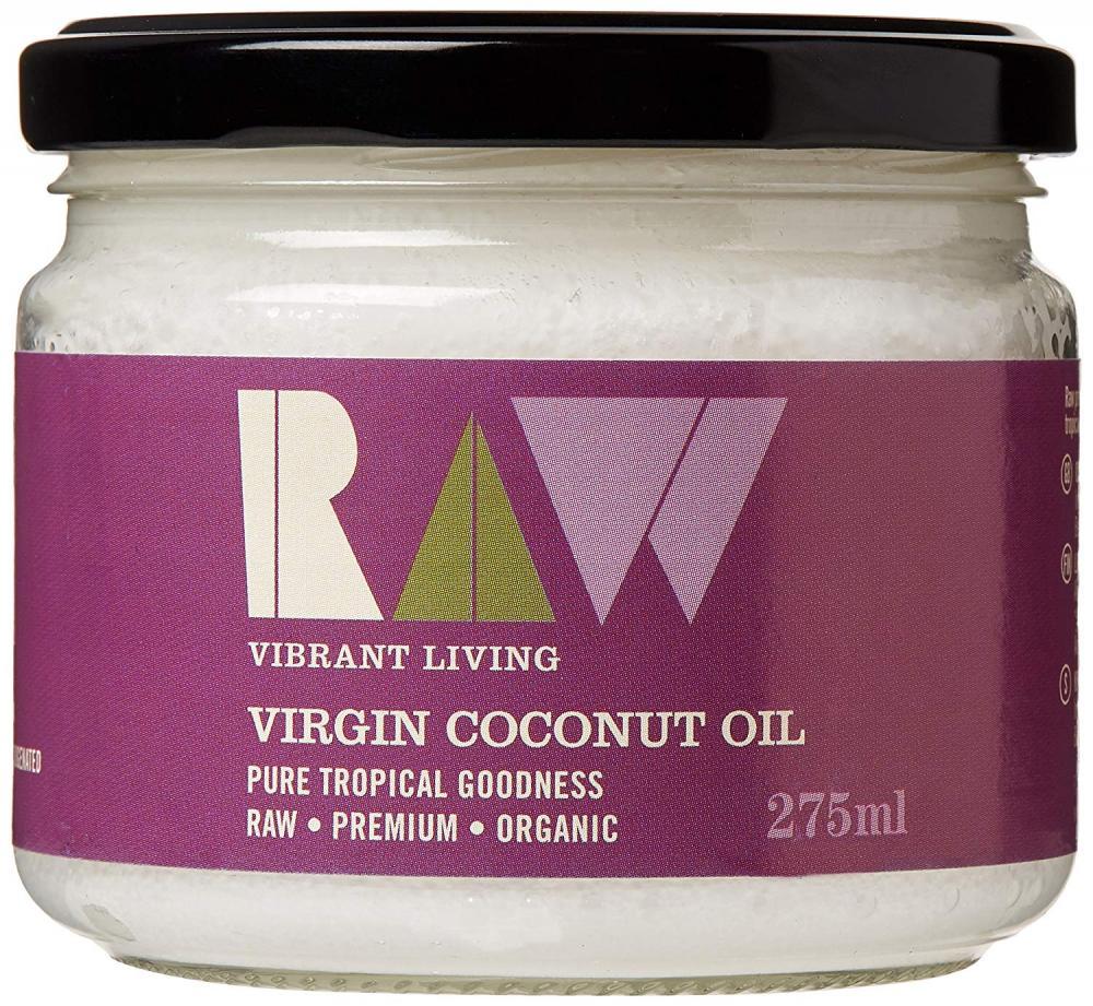 Raw Vibrant Living Virgin Coconut Oil 275ml