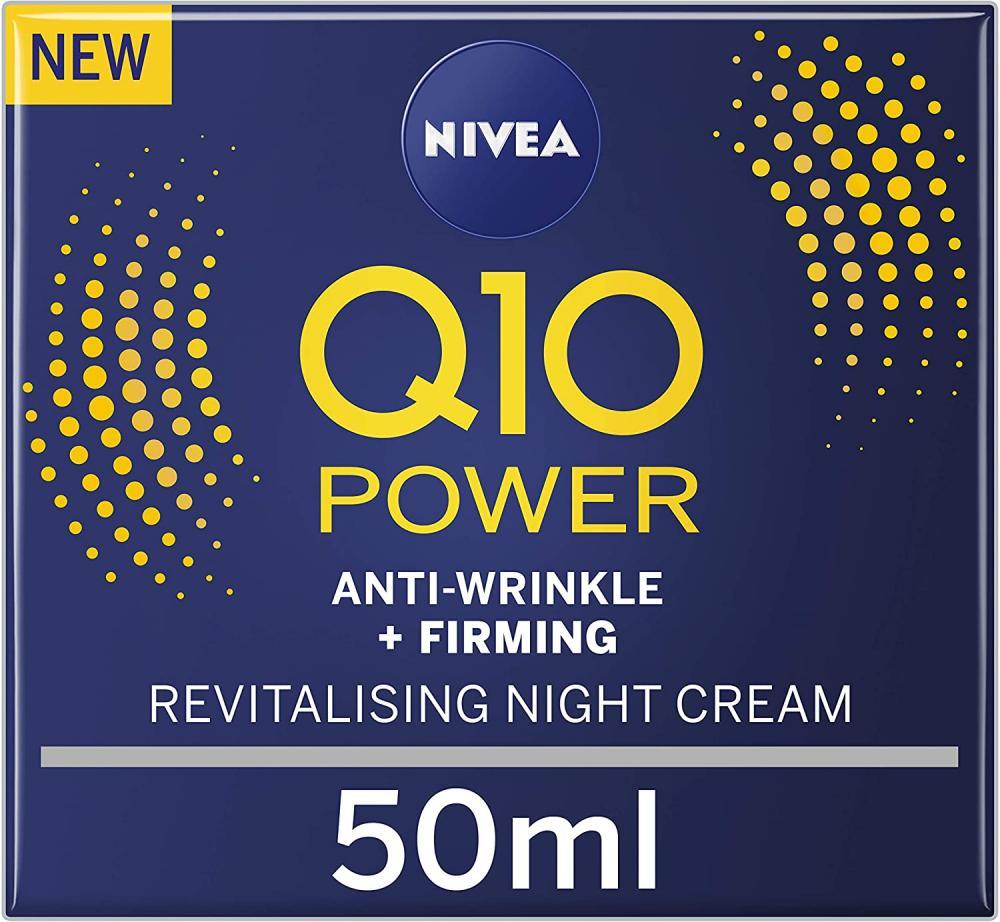Nivea Q10 Power Anti-Wrinkle Plus Firming Night Cream 50 ml