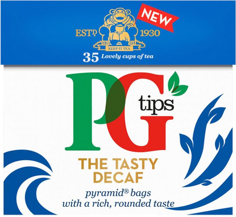 PG Tips Decaf 35 Tea Bags