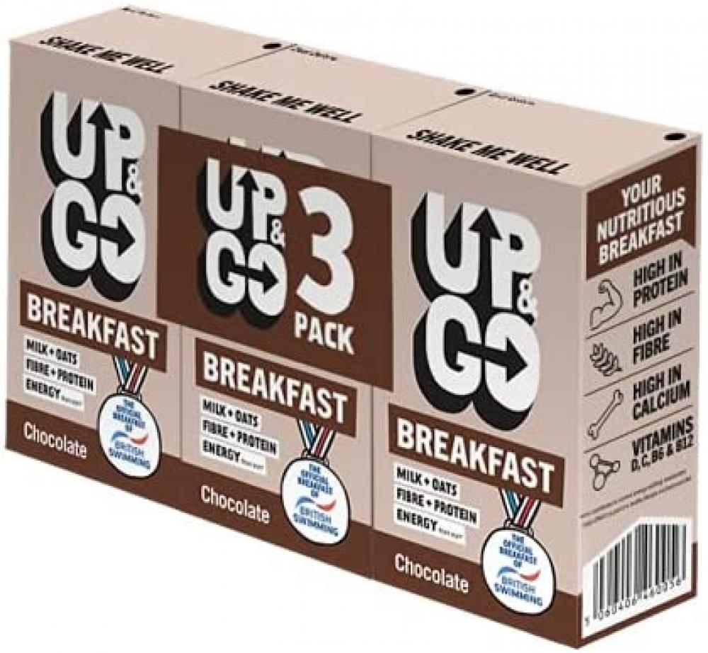 Up and Go Chocolate Breakfast Drink 250ml