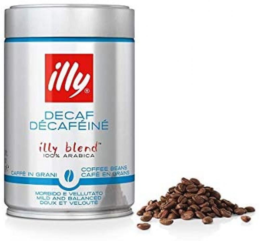 Illy Decaffeinated Coffee Beans 250g No cap