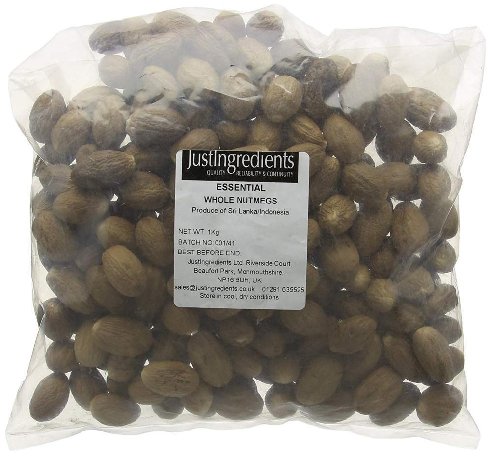 JustIngredients Nutmeg 1kg