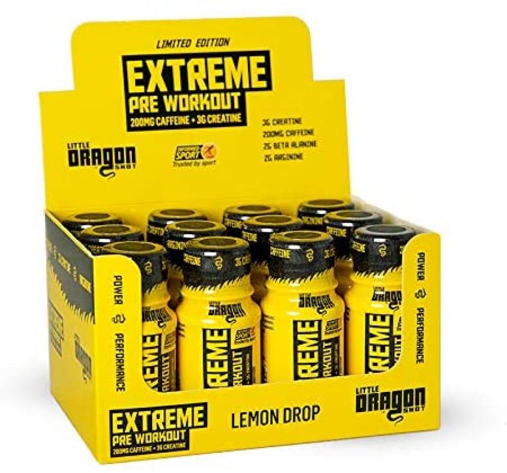 Little Dragon Extreme Pre Workout Lemon Drop 60ml