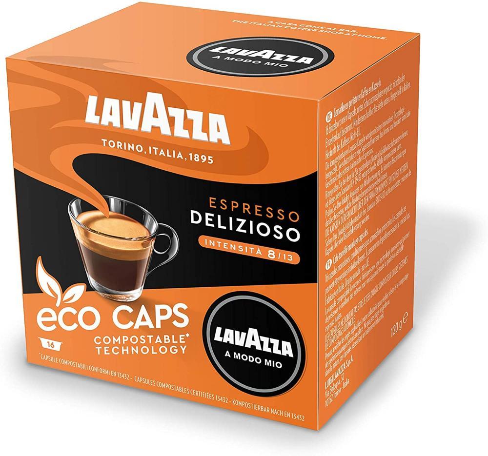 Lavazza Coffee Pods Espresso Delizioso 16 capsules