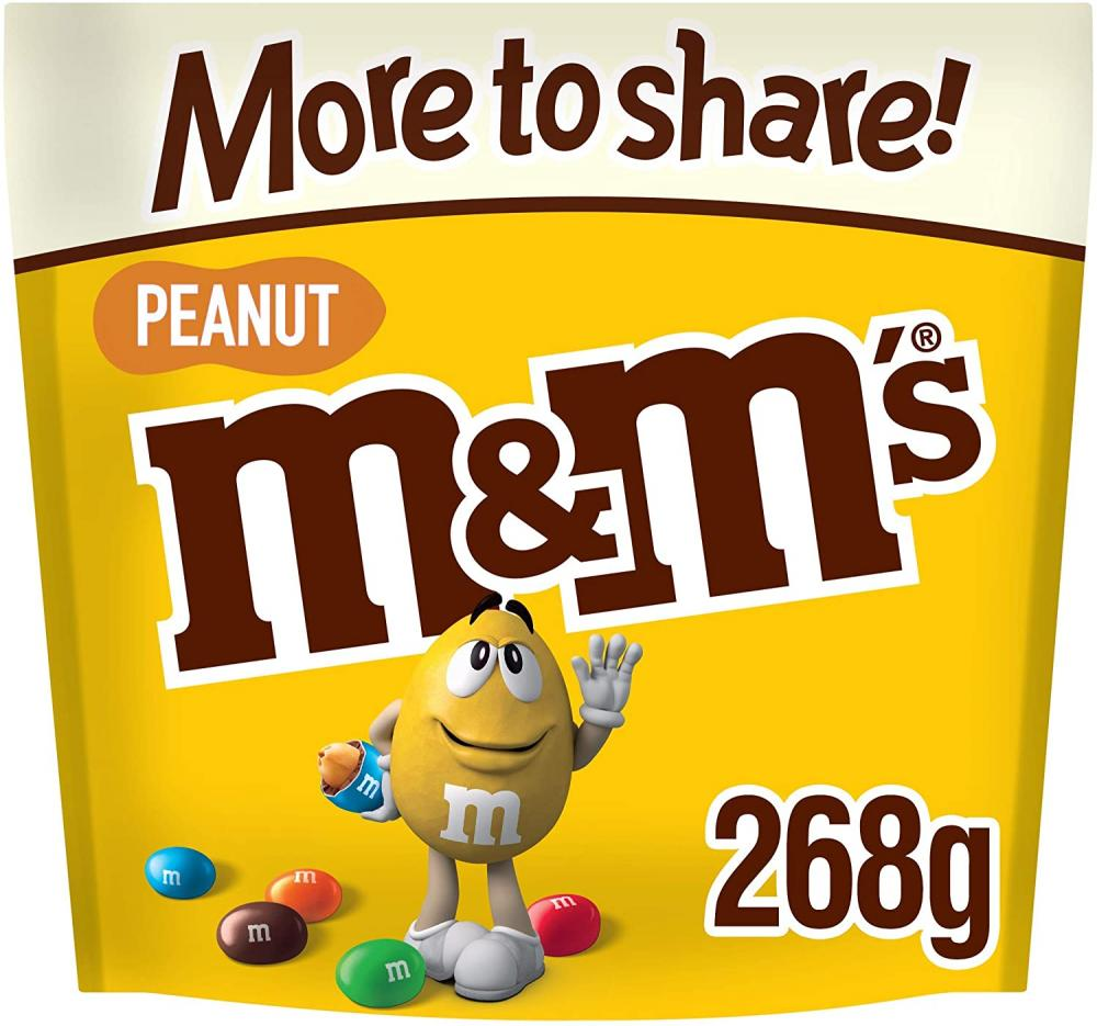 M and Ms Peanut Chocolate 268g