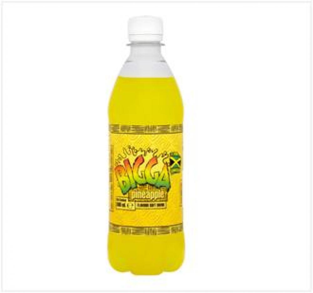 Bigga Pineapple Flavour Soft Drink 330ml