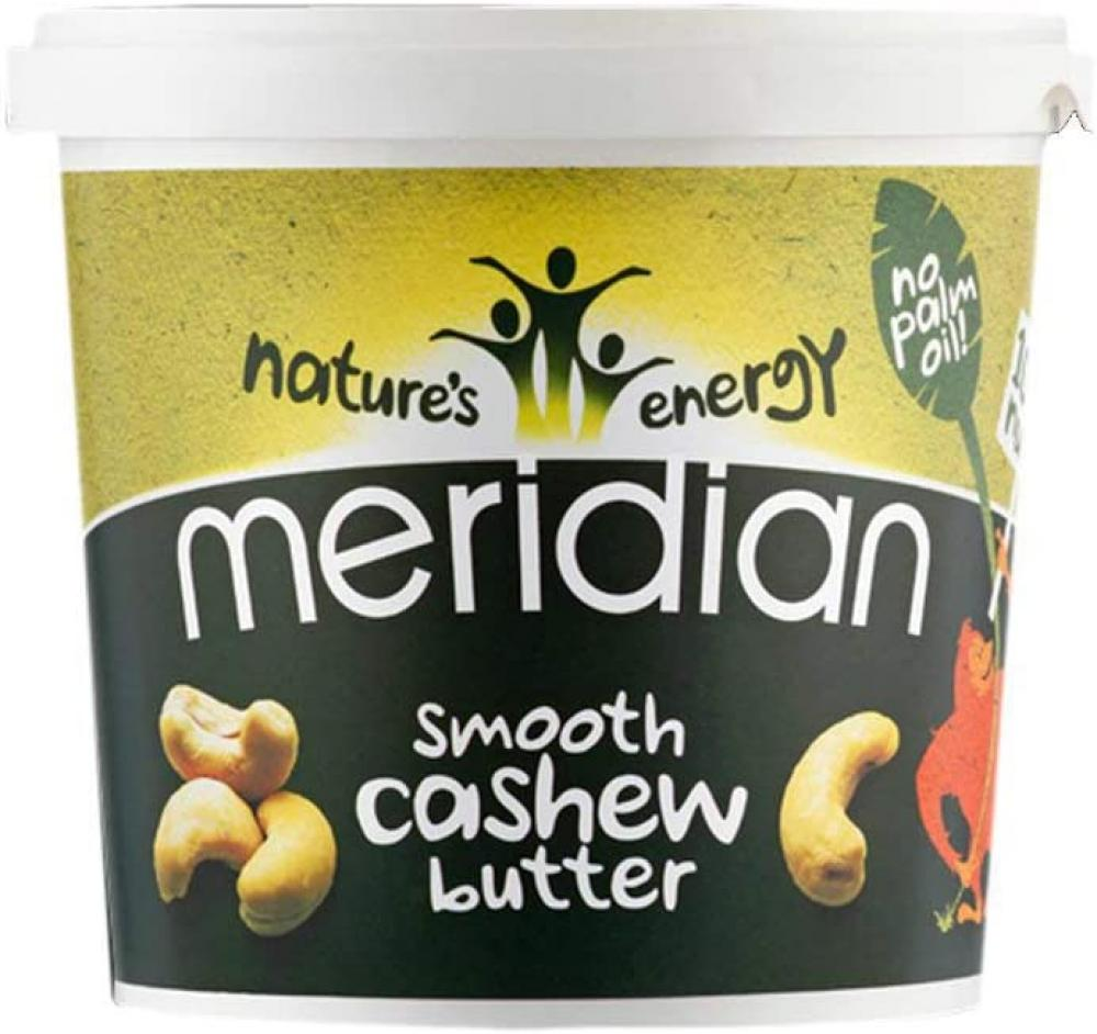 Meridian Smooth 100 Percent Nuts Cashew Butter 1kg