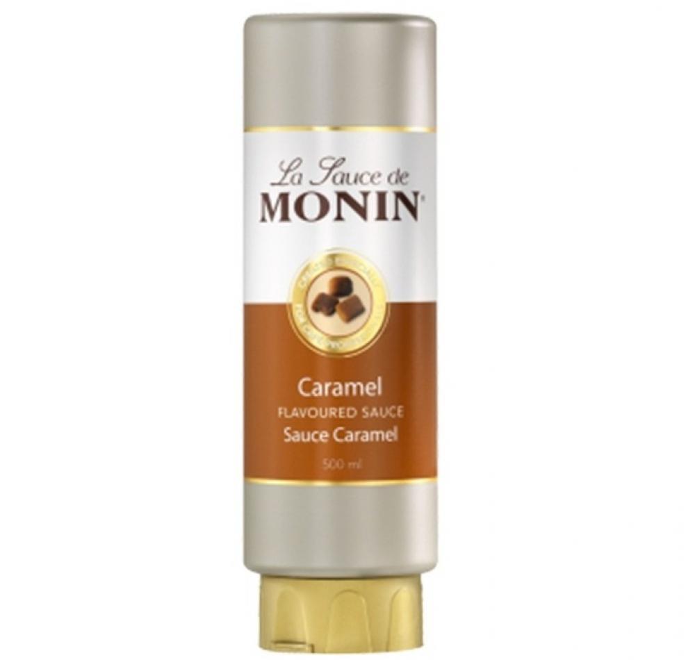 Monin Caramel Flavoured Sauce 500ml