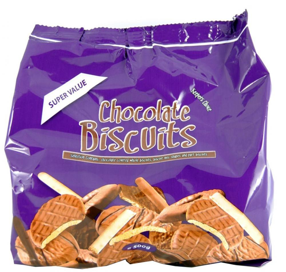 Keepers Choice Chocolate Biscuits 400g