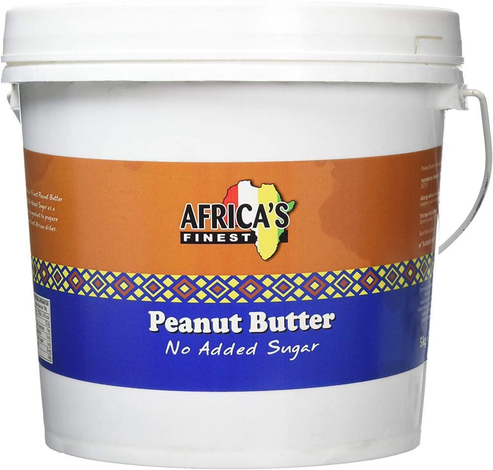 Africas Finest Peanut Butter No Added Sugar 5 kg