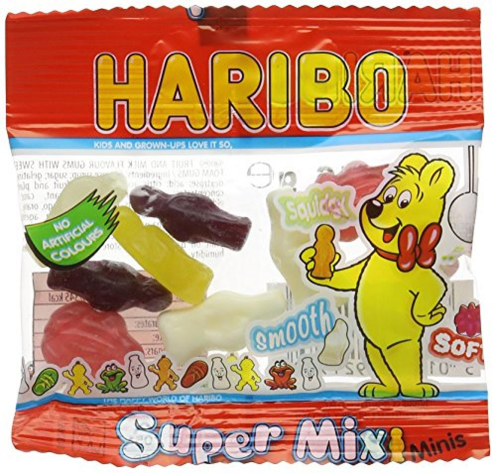 Haribo Super Mix Mini Bags 16g