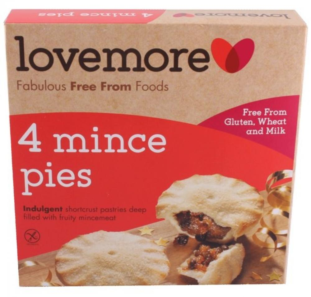 Lovemore 4 Mince Pies 270g
