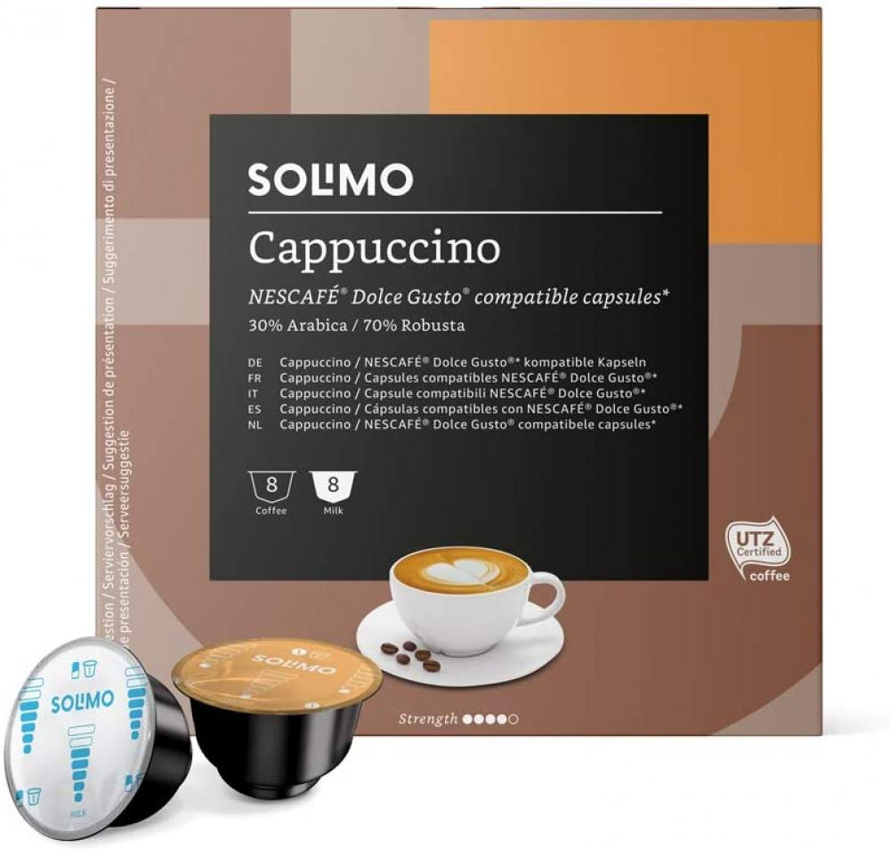 Solimo Dolce Gusto Cappucino 8 servings