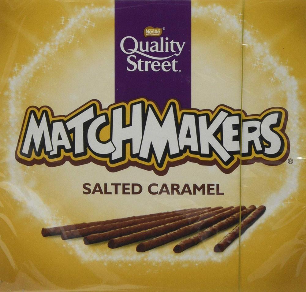 Nestle Quality Street Salted Caramel Matchmakers Chocolates 120 g