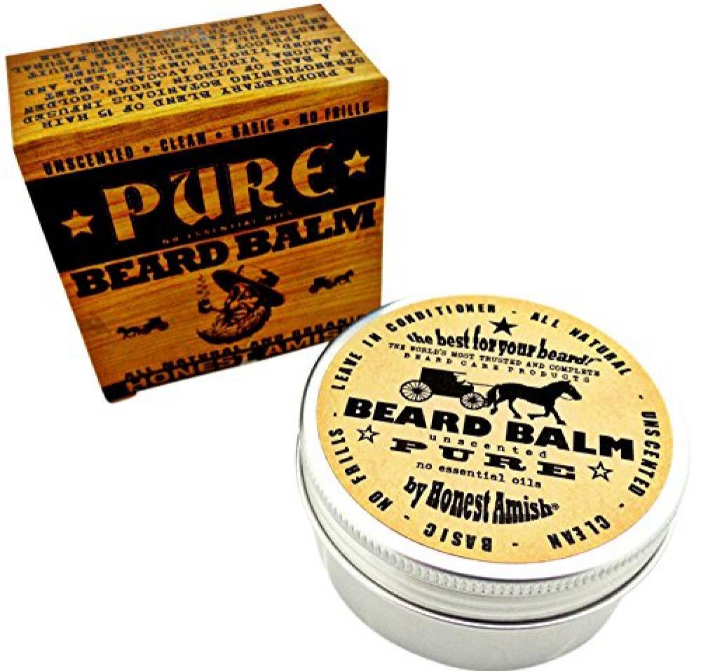 Honest Amish Unscented Beard Balm