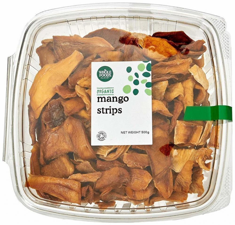 Whole Foods Market Organic Mango Strips 500g