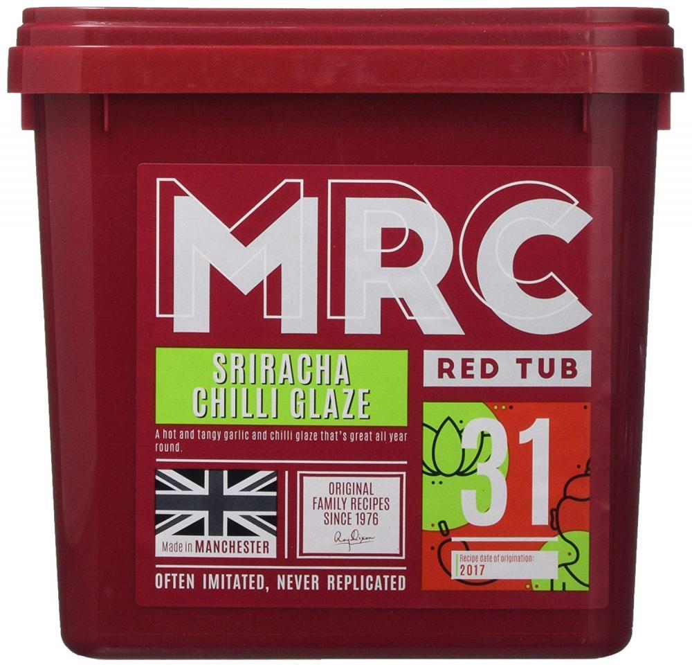 MRC Red Tub Sriracha Chilli Glaze Red Tub 2.5 kg