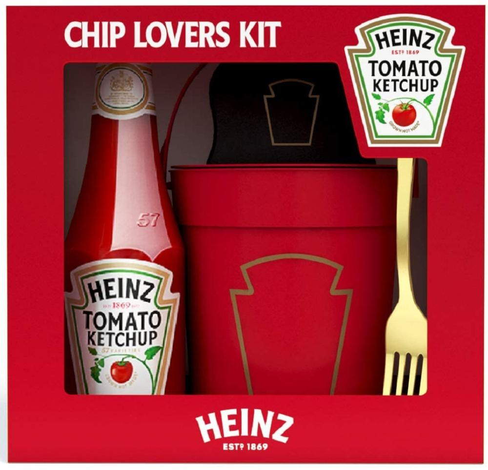 Heinz Limited Edition Tomato Ketchup Chips Lovers Gift Set Damaged Box