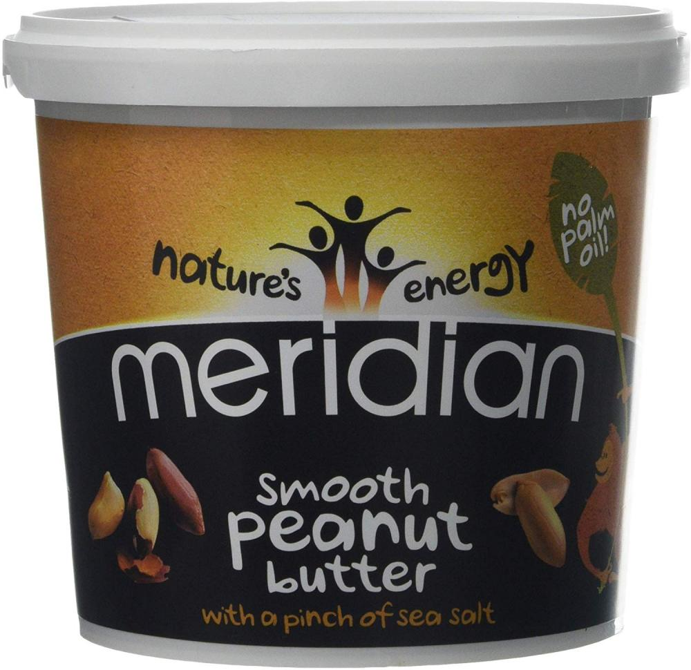 Meridian Smooth Peanut Butter with a Pinch of Salt 1kg