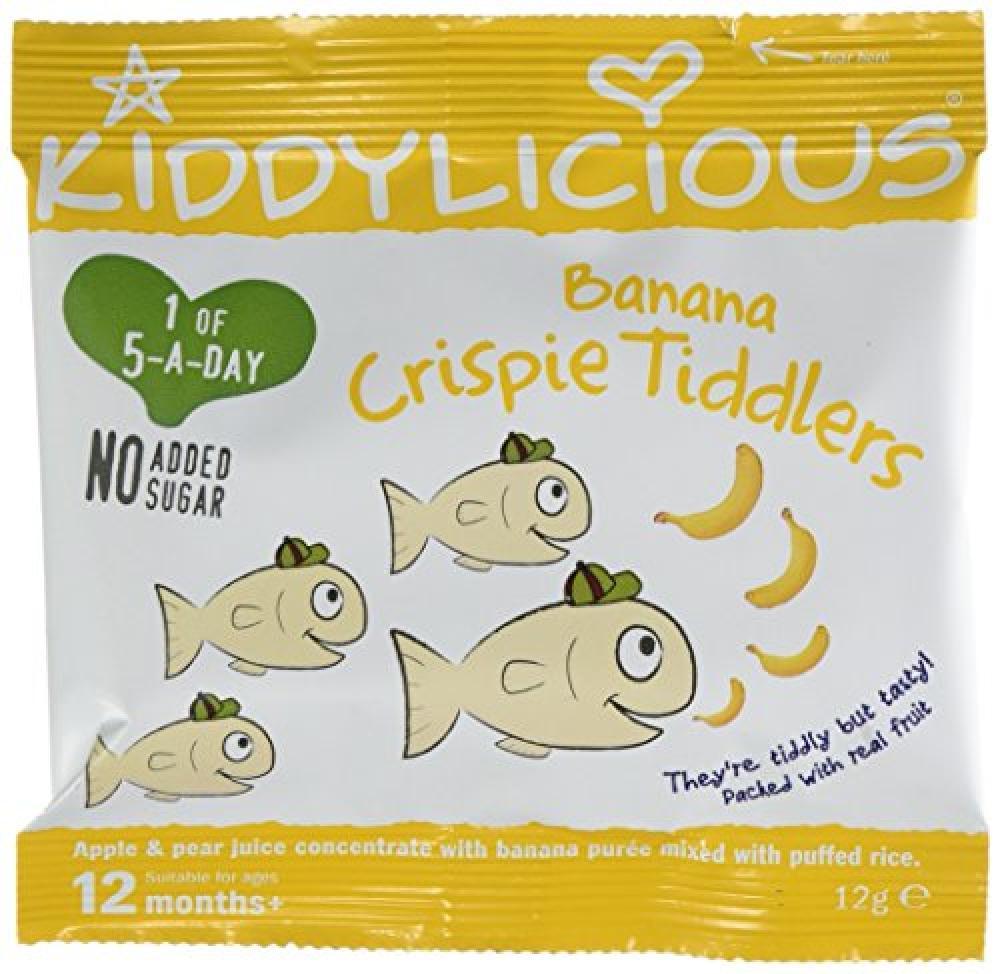 Kiddylicious Banana Crispie Tiddler 12g