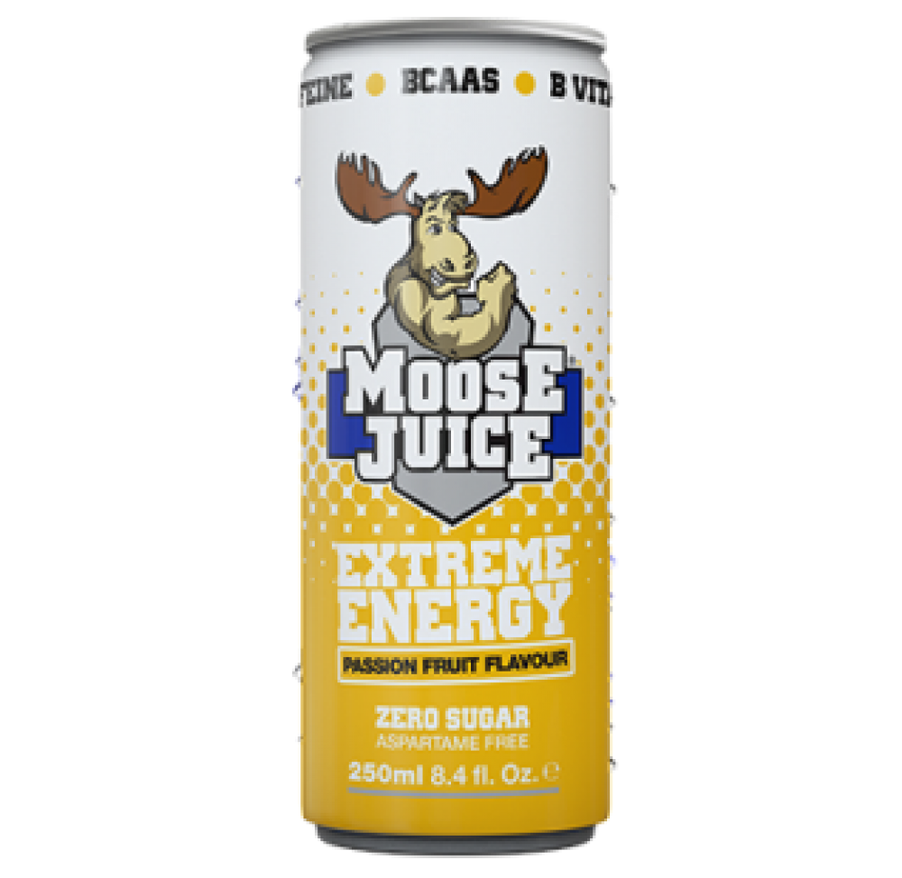 Muscle Moose Juice Extreme Energy Passion Fruit 250 ml