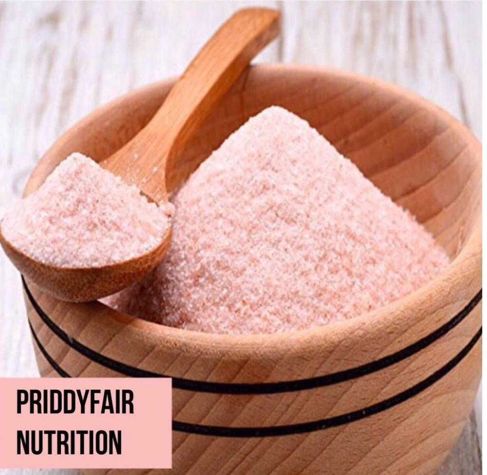 Priddyfair Nutritiion Fine Pink Himalayan Salt 1kg