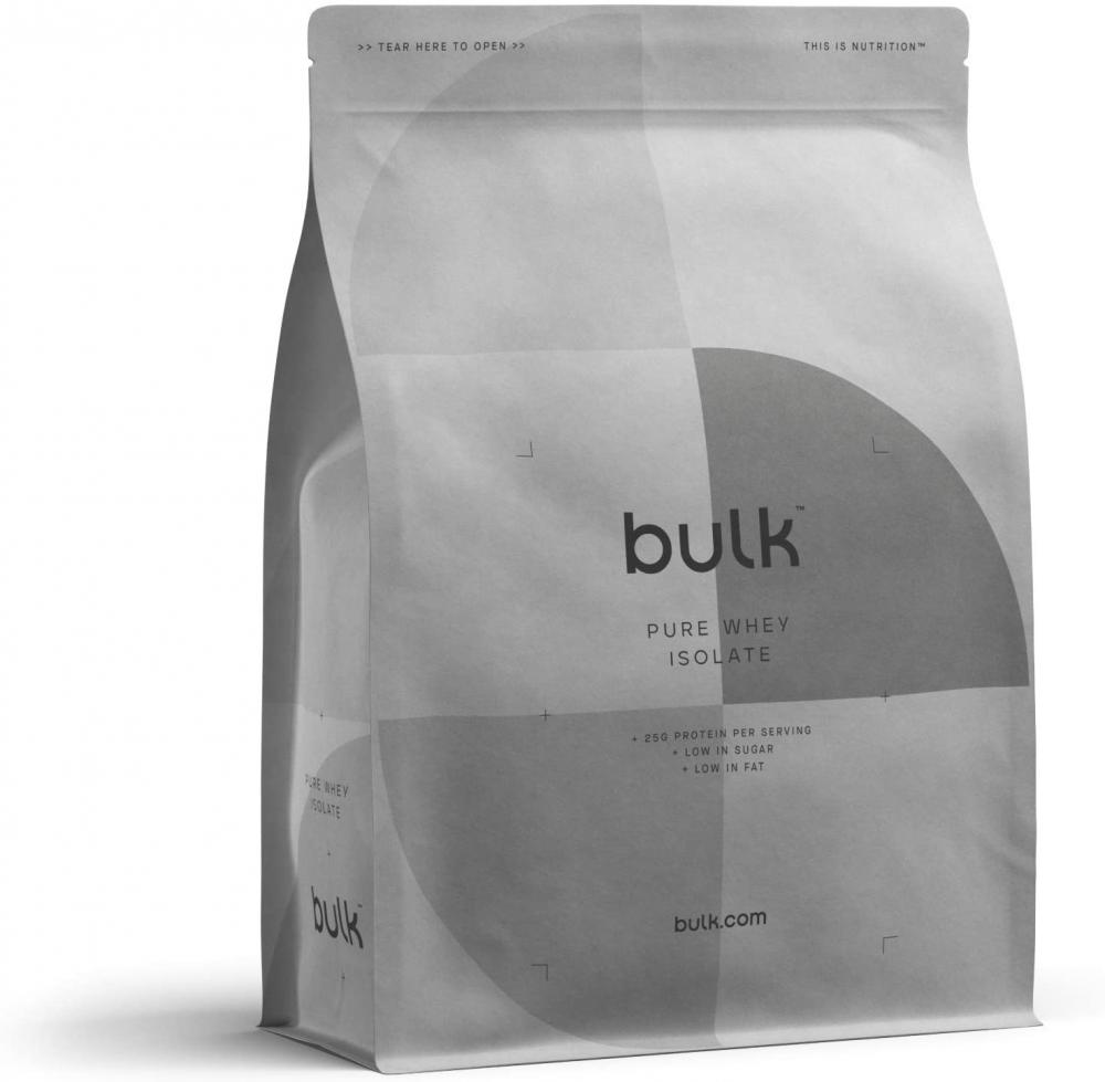 Bulk Powders Pure Whey Protein Isolate 90 Protein Powder Shake Chocolate 1kg