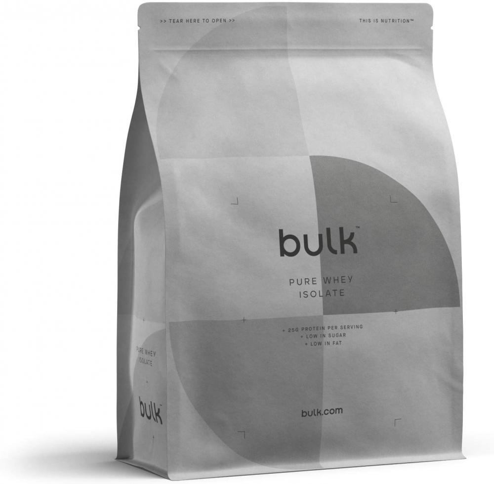 SALE  Bulk Powders Whey Protein Isolate 90 Protein Powder Shake Salted Caramel 2.5kg