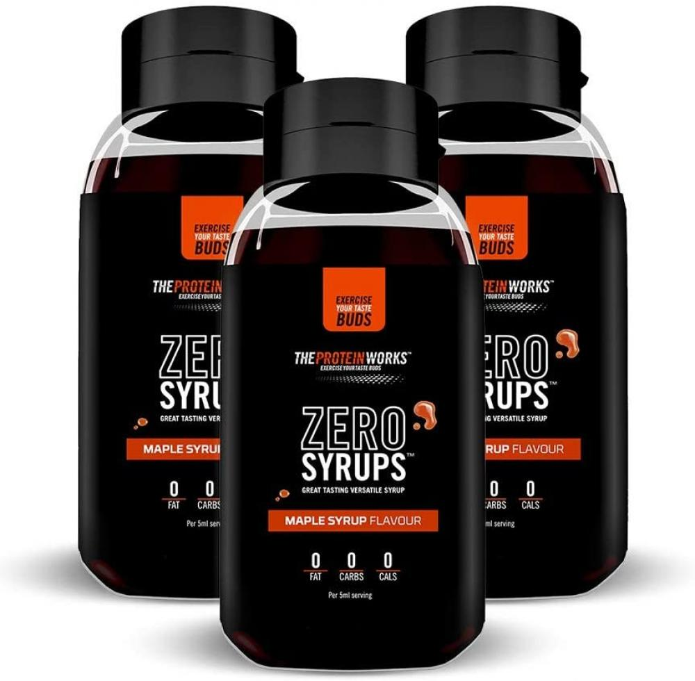 The Protein Works Zero Syrups Maple Syrup Flavour 600ml