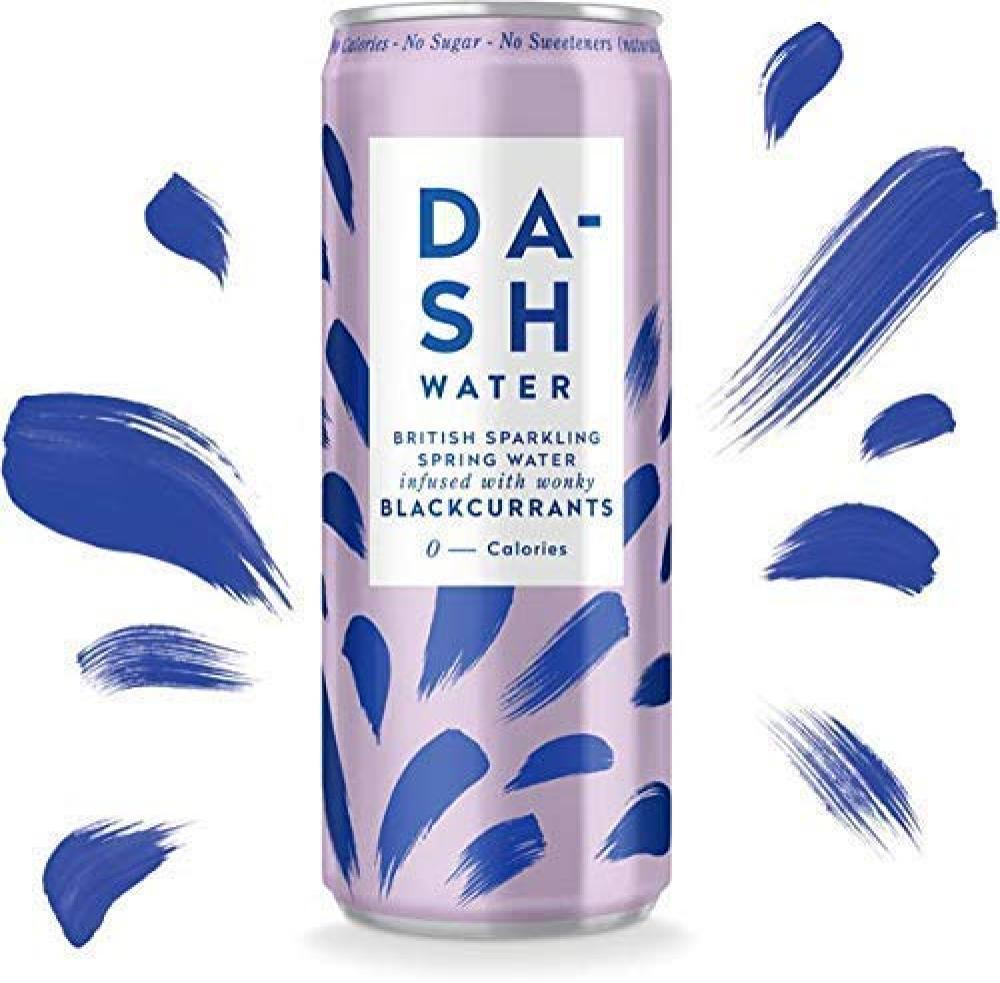 Dash Water Blackcurrant Infused Sparkling Water 330 ml