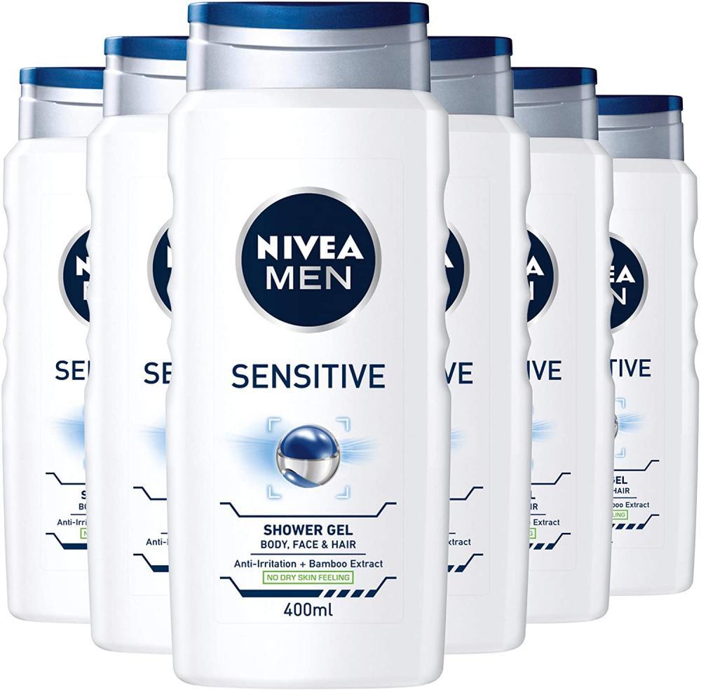 Nivea Men Sensitive Shower Gel 400ml