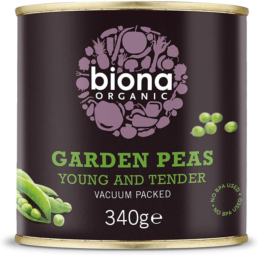 Biona Organic Garden Peas 340g