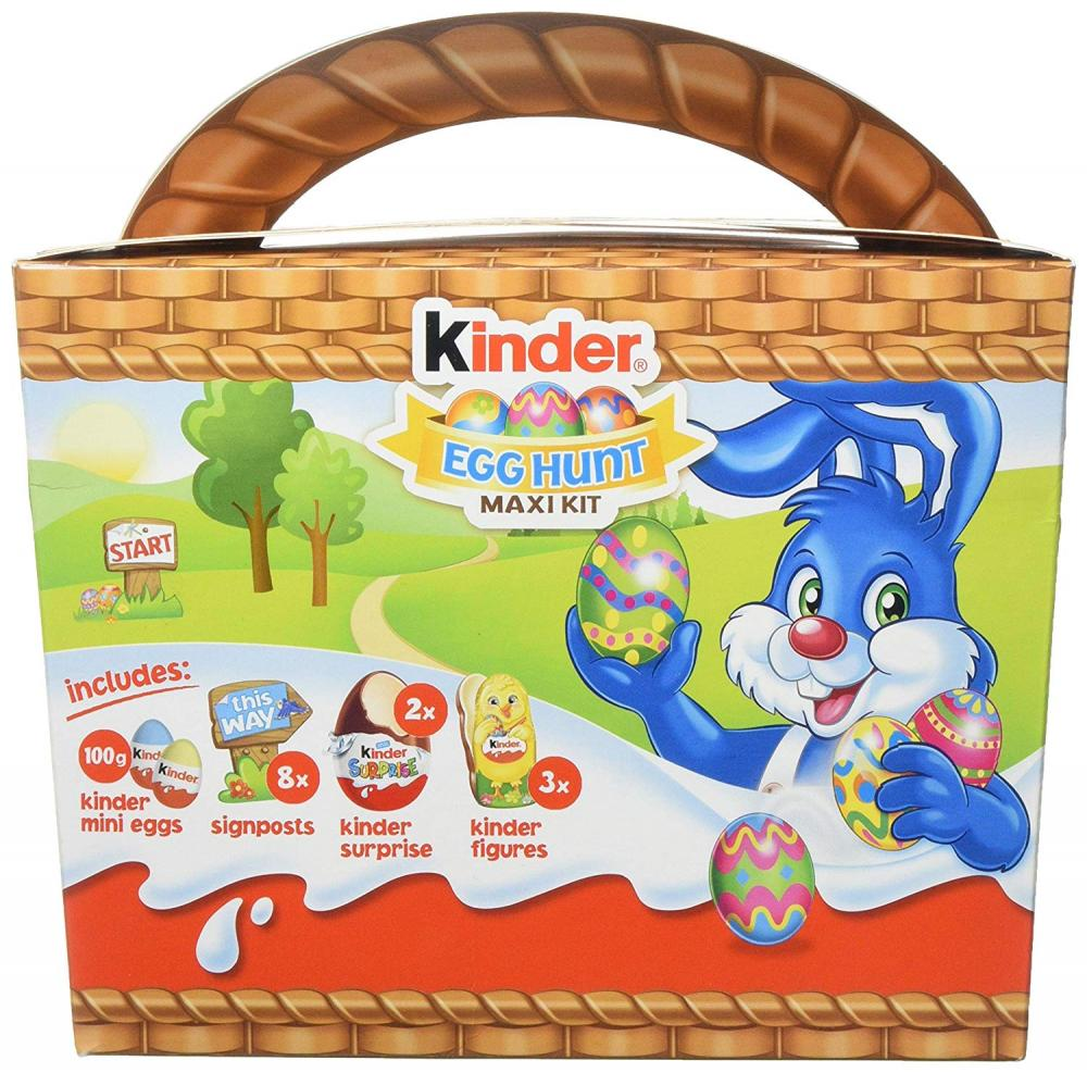 Kinder Egg Hunt Maxi Kit 185g
