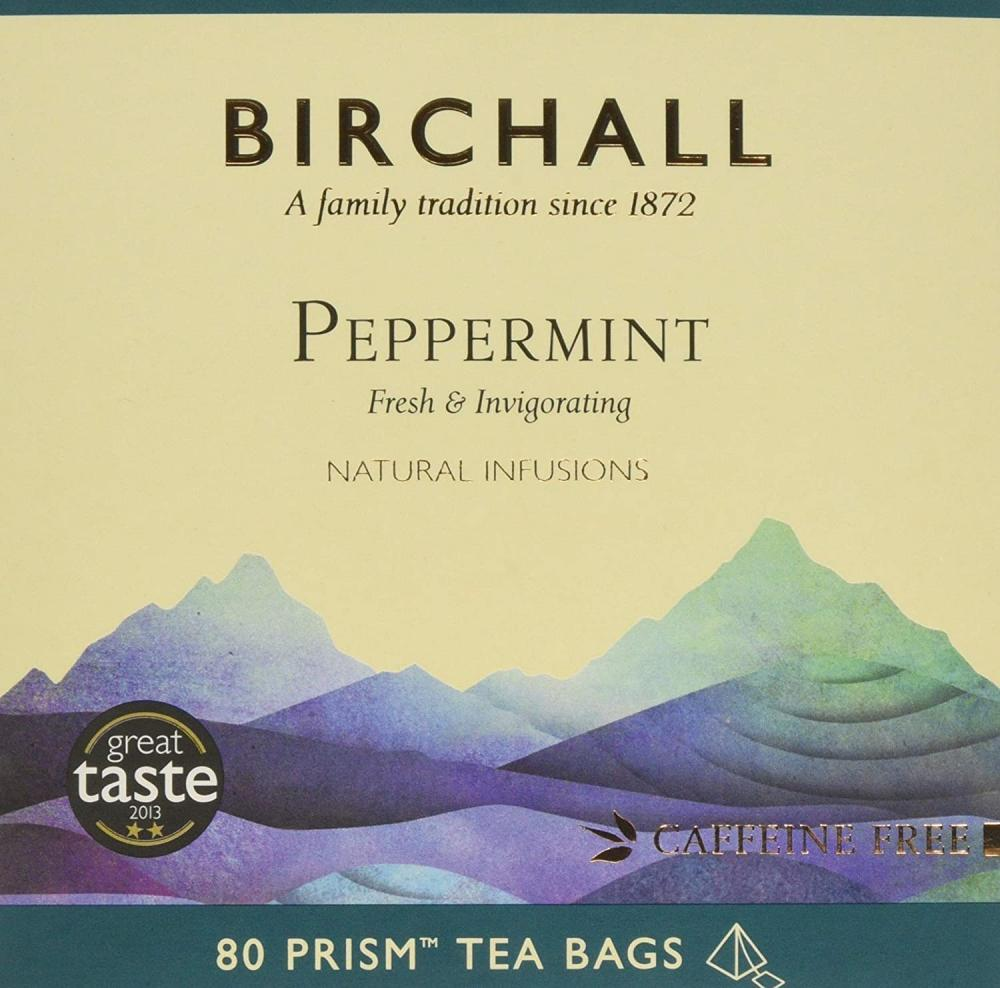 Birchall Peppermint Prism Tea Bags 120 g