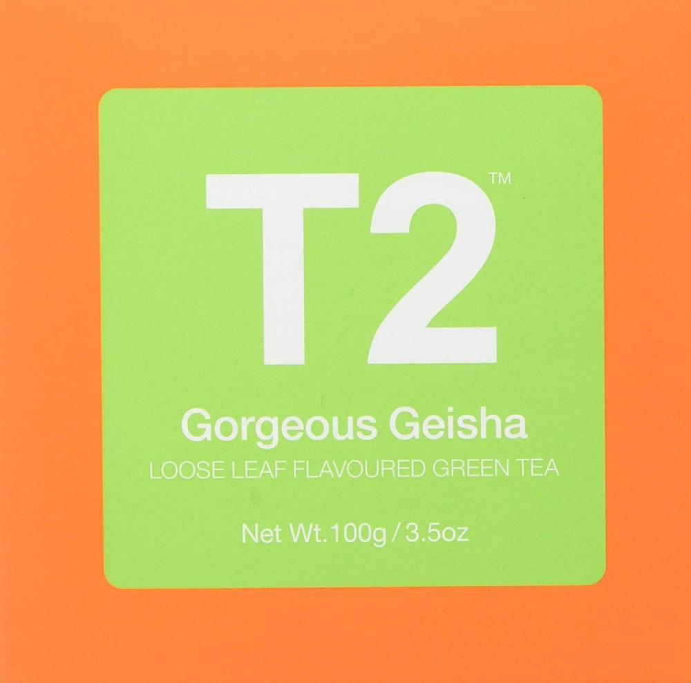 T2 Tea Gorgeous Geisha Green Tea 100g