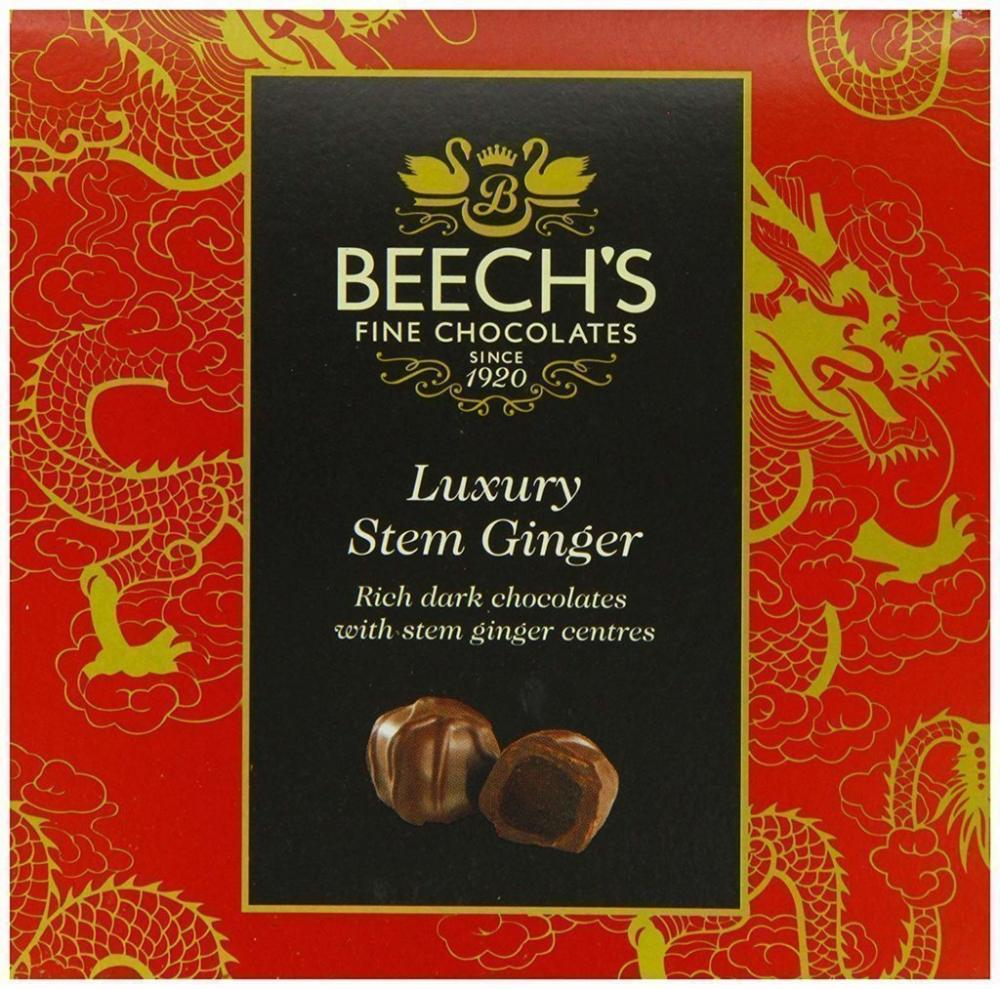 Beechs Fine Chocolate Luxury Stem Ginger 100g