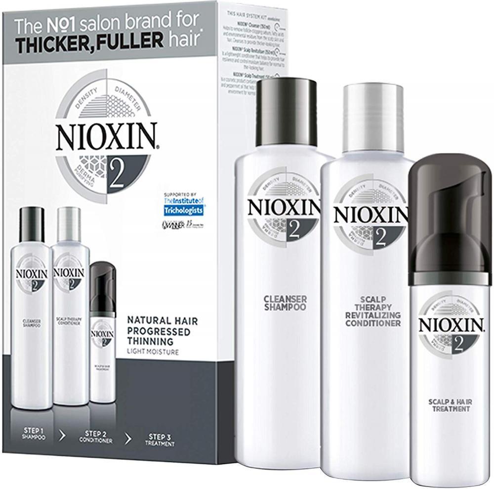 Nioxin 3 Part Trial Kit System 2
