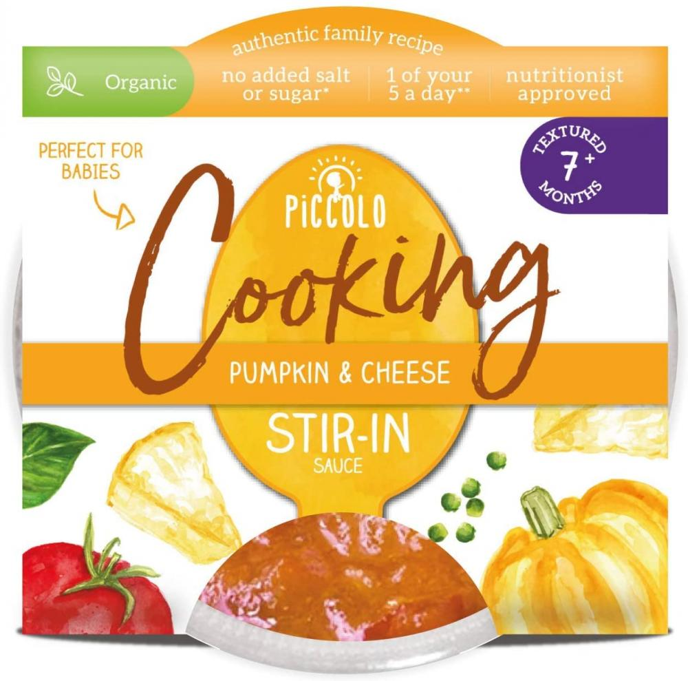Piccolo Pumpkin and Cheese Stir-in Sauce 80g