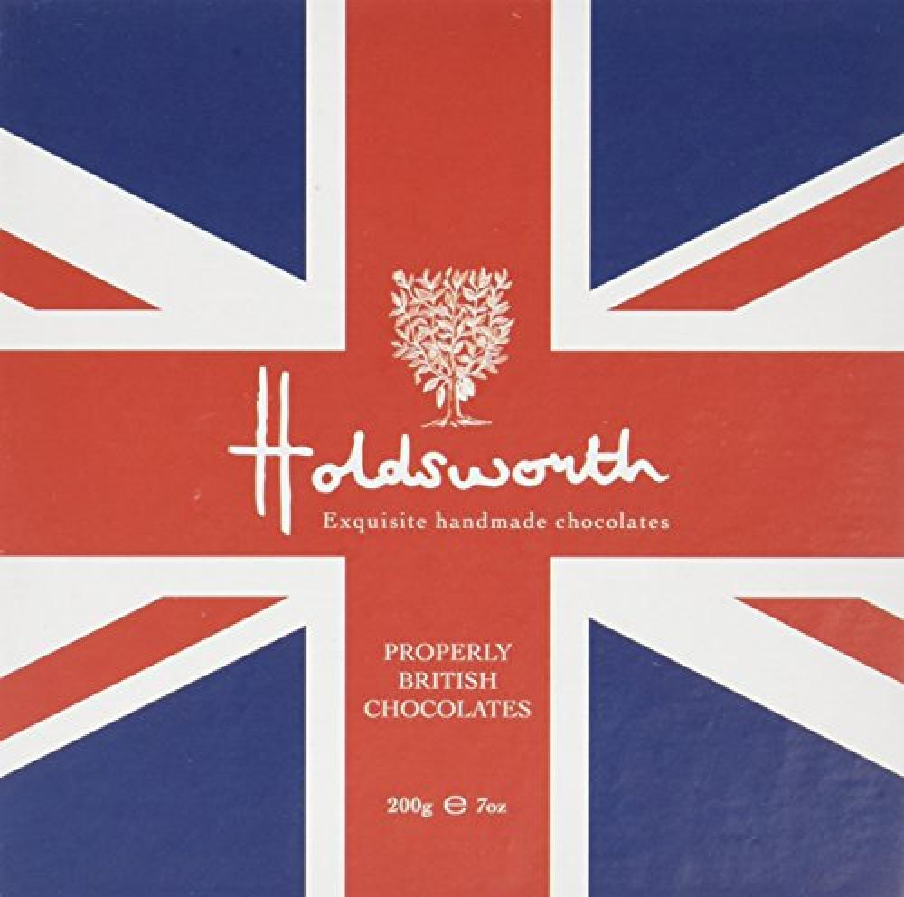 Holdsworth Exquisite Handmade Chocolates a Collection of Properly British Chocolates 200 g