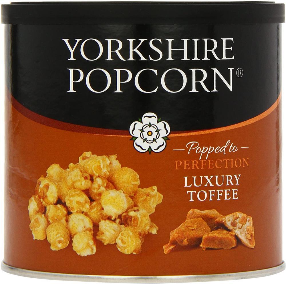 Yorkshire Popcorn Toffee 90g