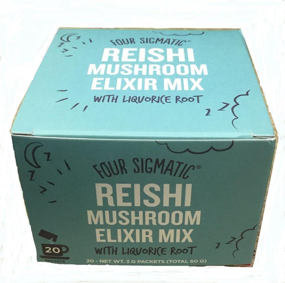 Four Sigma Foods Reishi Superfood Mushroom Drink Mix 20x3g