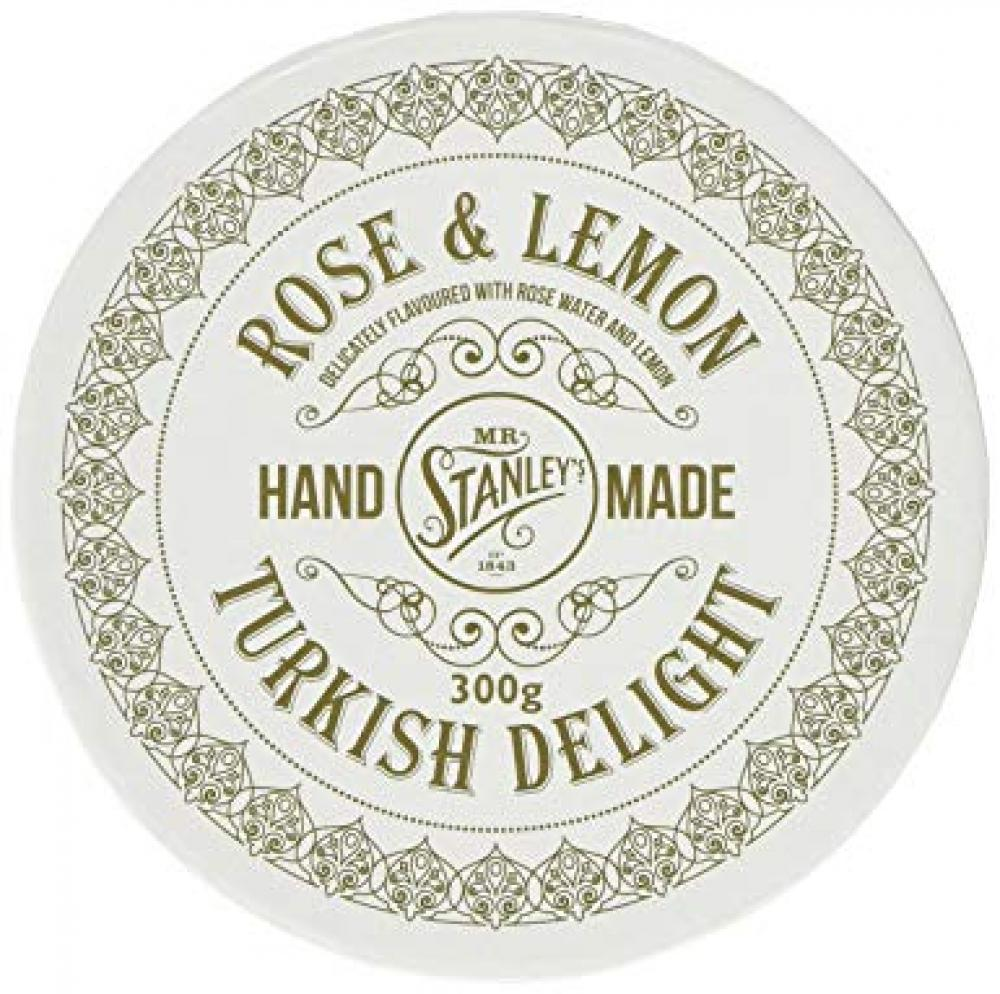 Mr Stanleys Rose and Lemon Turkish Delight 300g