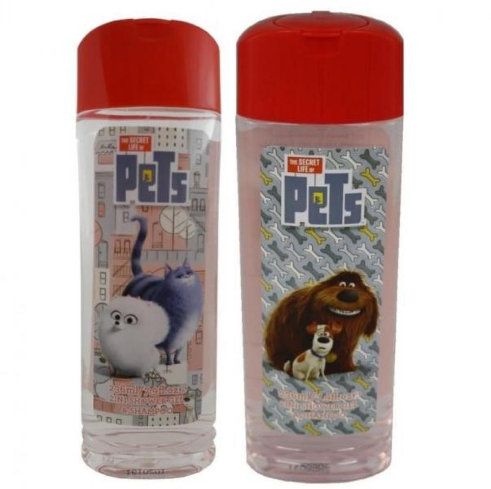 The Secret Life of Pets 2in1 Shower Gel and Shampoo 236ml