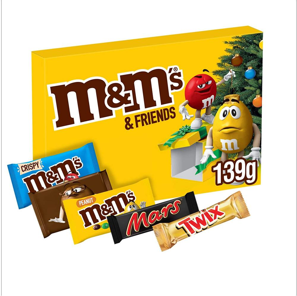 M and Ms Friends Medium Selection Box 139g
