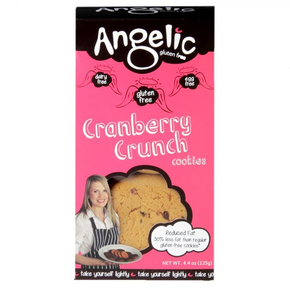 Angelic Gluten Free Cranberry Crunch Cookies Box 125g