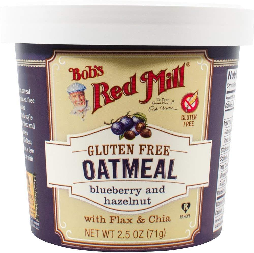 Bobs Red Mill Blueberry Hazelnut Oatmeal Cup 71g