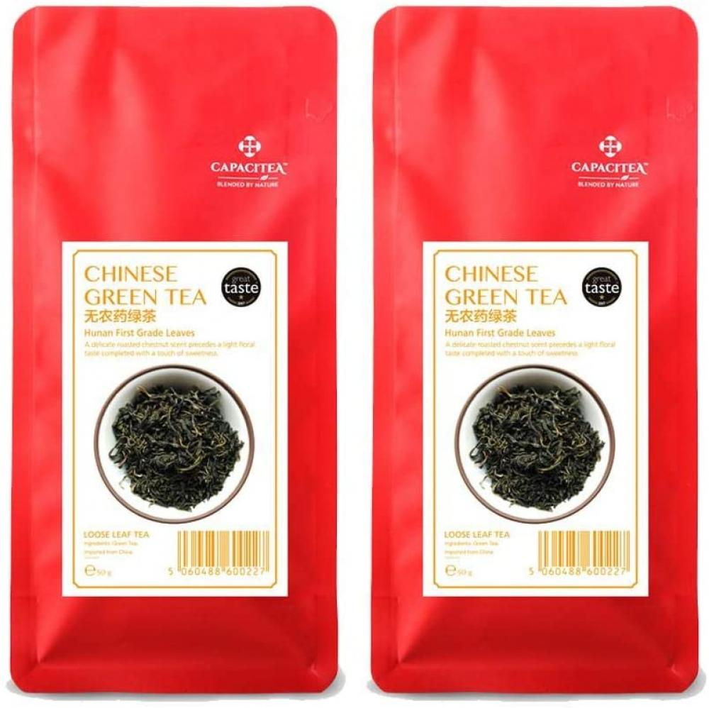CAPACITEA Chinese Green Tea Loose Tea 50g